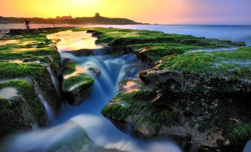 北海岸一日遊行程 景點美食推薦 老梅綠石糟