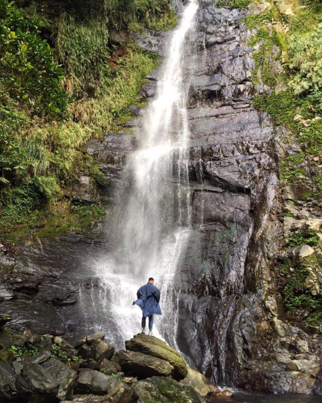 宜蘭一日遊景點推薦 五峰旗瀑布