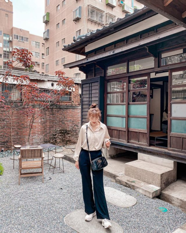 新竹老宅咖啡廳-李克承博士故居 a-moom