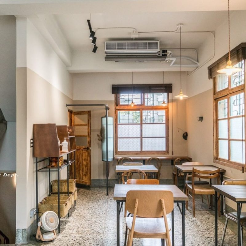 新竹老宅咖啡廳-微生 Float Dept