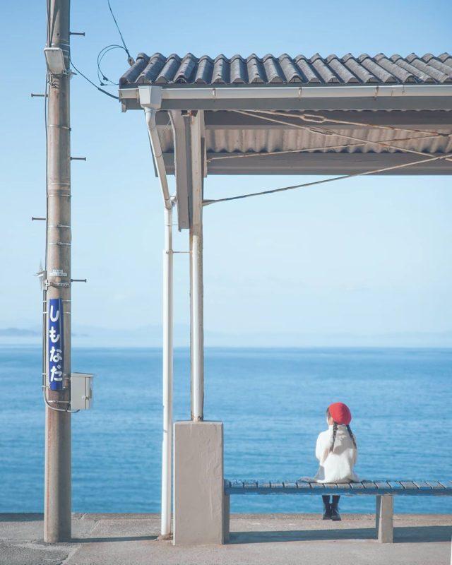 愛媛下灘站