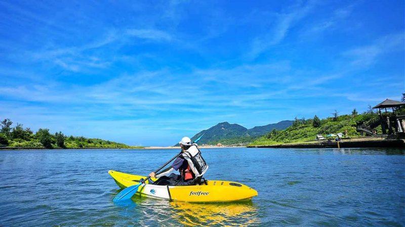 獨木舟體驗景點#9 福隆雙溪