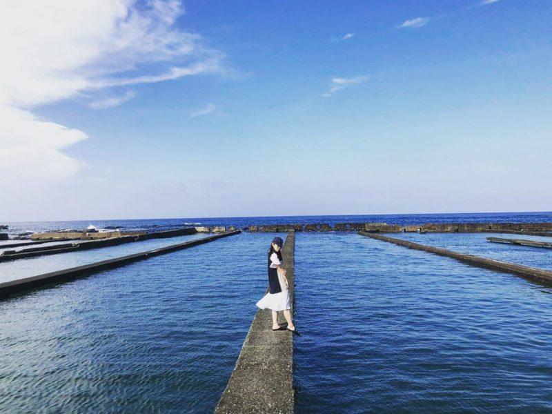 馬崗漁港九孔池