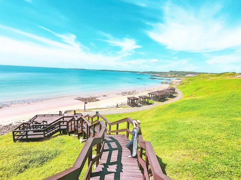 內垵遊憩區 全台最美沙灘