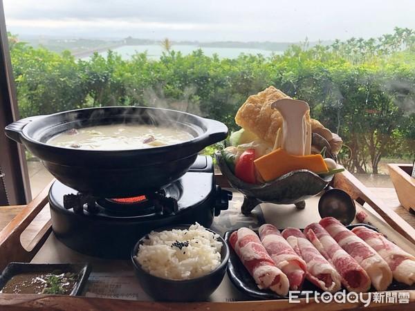 【嘉義餐廳】絕美湖景第一排 人氣景觀餐廳吃飽還能泡足湯!