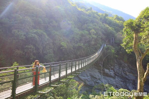 瓦拉米步道山風一號橋