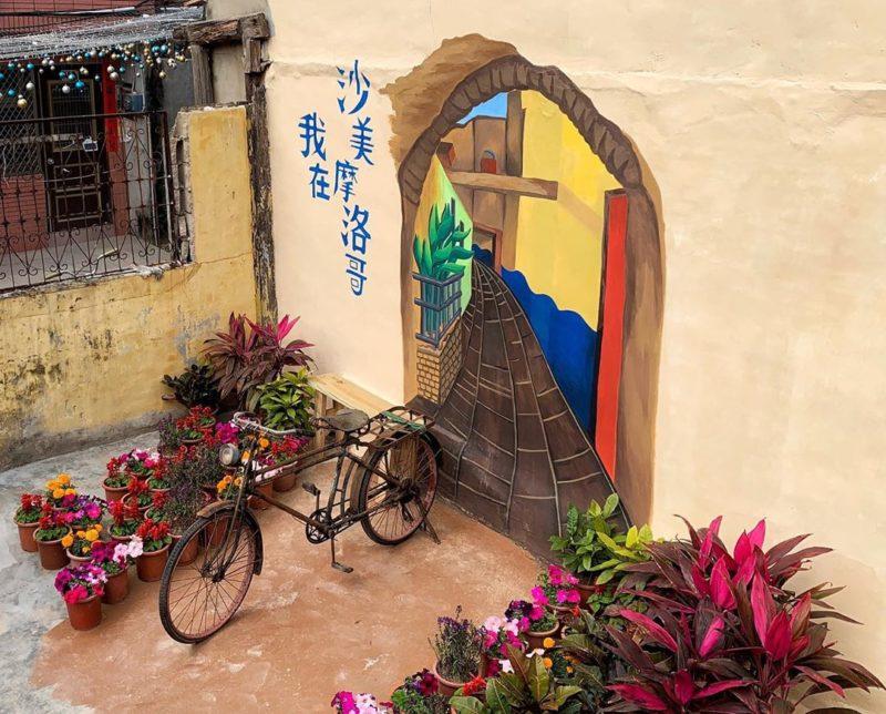 金門景點沙美老街-沙美摩洛哥