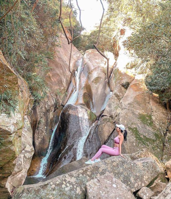 圓覺瀑布 內湖景點,內湖瀑布,內湖戶外景點,內湖登山
