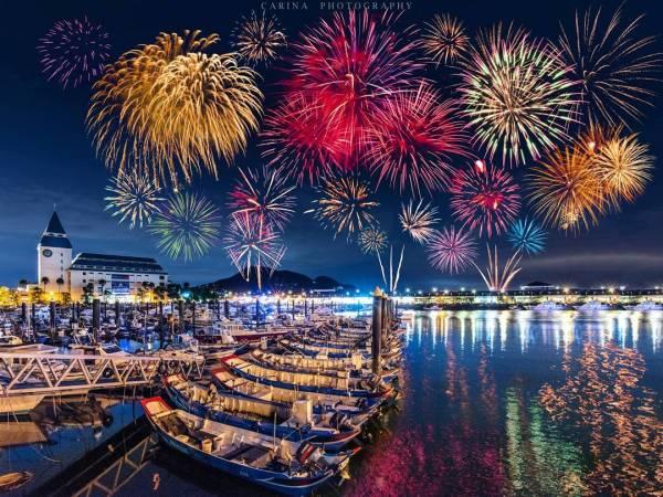 淡水漁人碼頭煙火|淡水,淡水漁人碼頭,漁人碼頭,煙火,淡水煙火,漁人碼頭煙火,淡水活動,淡水景點