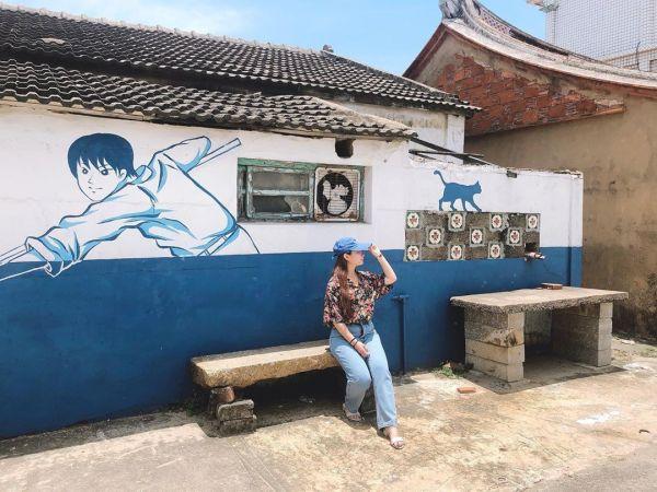 金門景點 中堡藍晒圖