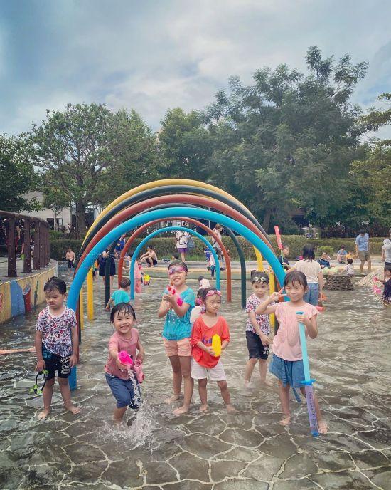 塭仔底滯洪溼地公園 新莊景點,新莊親子公園,新莊玩水地點