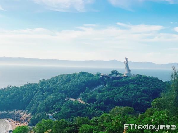 ▲▼馬祖旅遊,南竿旅遊,媽祖巨神像。