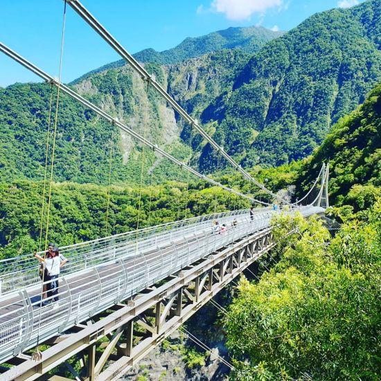 山月吊橋|花蓮吊橋,花蓮景點.吊橋景點