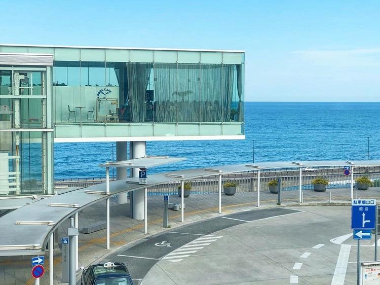 全球最美車站|日立車站|海景餐廳|SEA BiRDS CAFE|日本車站