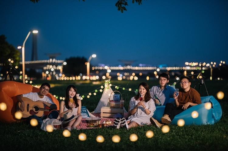三重新北大都會公園「來新北 音樂盒・野餐」
