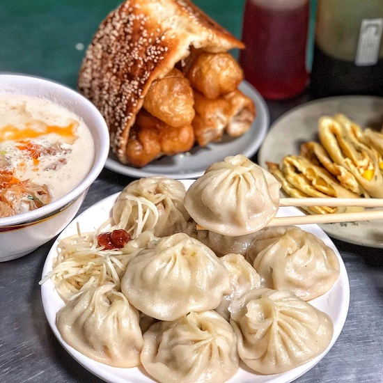 佳香點心大王 木柵中式早餐 中式早餐 早餐 胡椒夾油條 玉米蛋餅 鹹豆漿