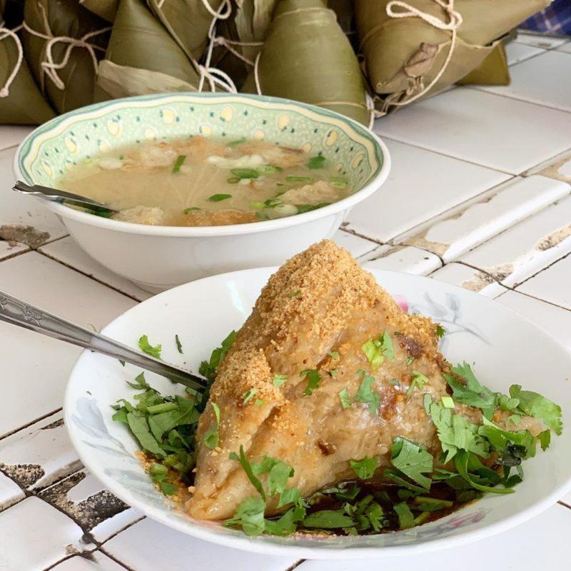 友愛市場郭家菜粽|台南美食|肉粽
