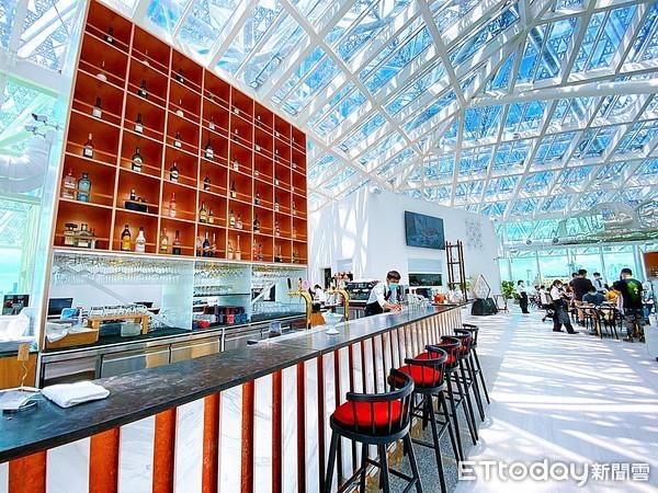【台南餐廳】台南最美玻璃屋景觀餐廳,360度賞台南古城風景 台南美術館二館