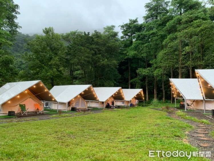 基隆最新懶人露營開箱!暖東峽谷旁「拉波波村」設施玩不完
