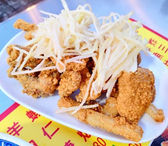 順路來紅燒肉羹-炸三鮮|寧夏夜市美食,台北夜市,夜市美食,台北美食,夜市小吃