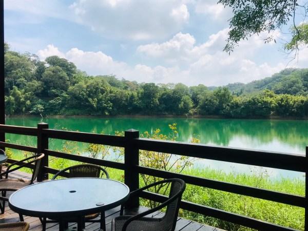 沙湖壢咖啡廳|新竹景點|寶山水庫|湖景咖啡廳