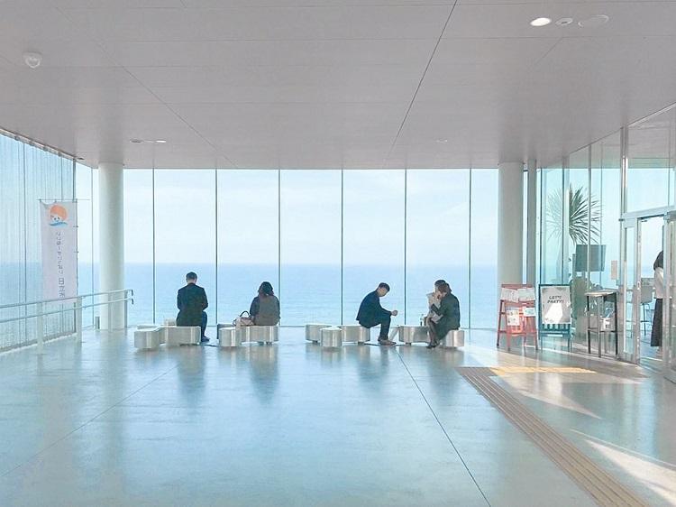 全球最美車站|日立車站|海景餐廳|SEA BiRDS CAFE|日本車站|觀海車站