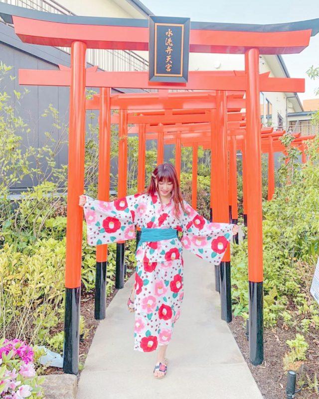 空庭溫泉 OSAKA BAY TOWER|空中花園|鳥居|大阪溫泉