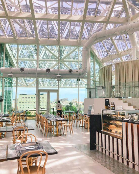 美。食光 Lumière|台南餐酒館|玻璃屋餐酒館 |台南景點|台南美術館二館