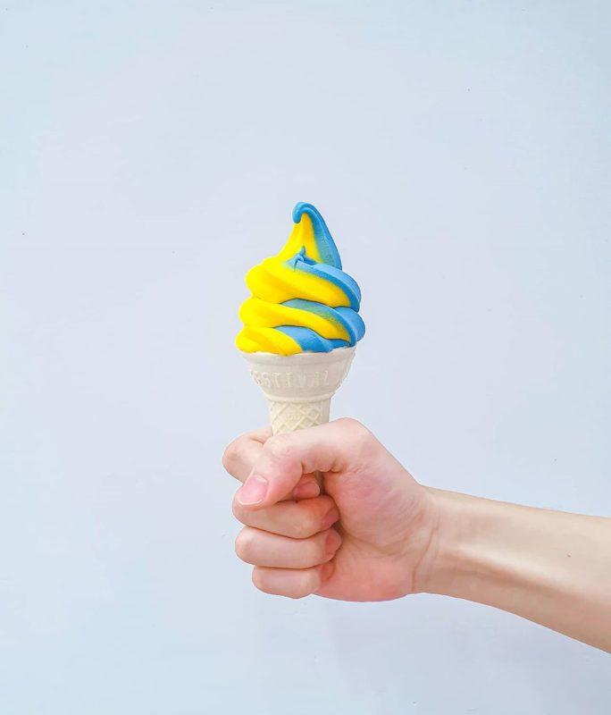 IKEA青埔店|雙色冰淇淋