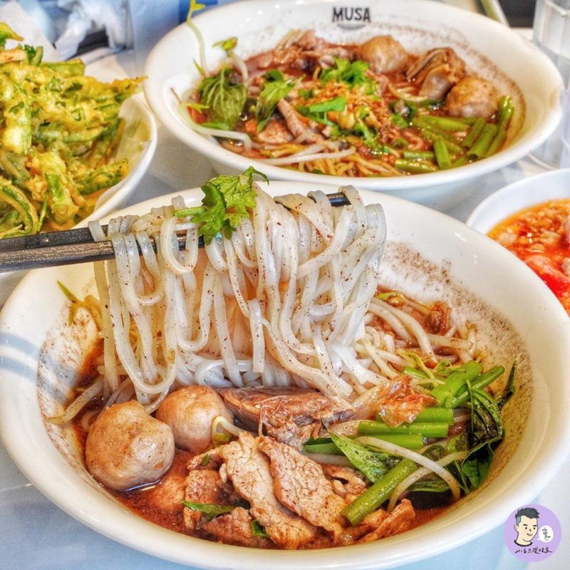 Musa泰國船麵|台南美食