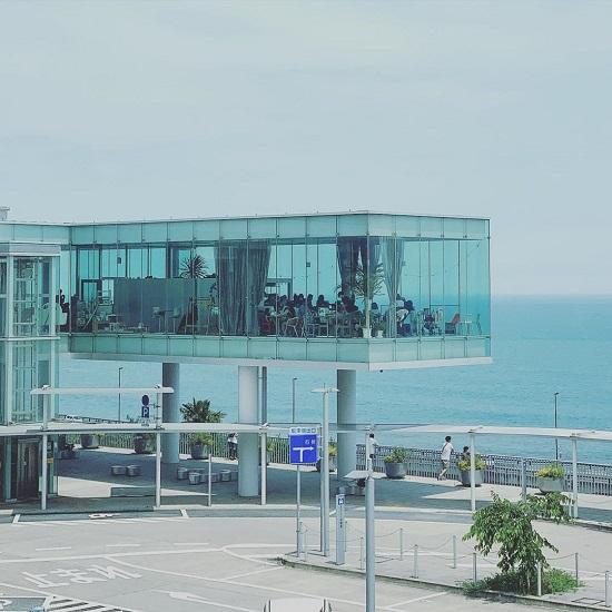 SEA BiRDS CAFE|海景餐廳|車站餐廳|日本車站餐廳|車站