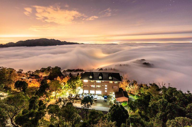 雲洞山莊 苗栗 雲海 雲海景點 三義風景
