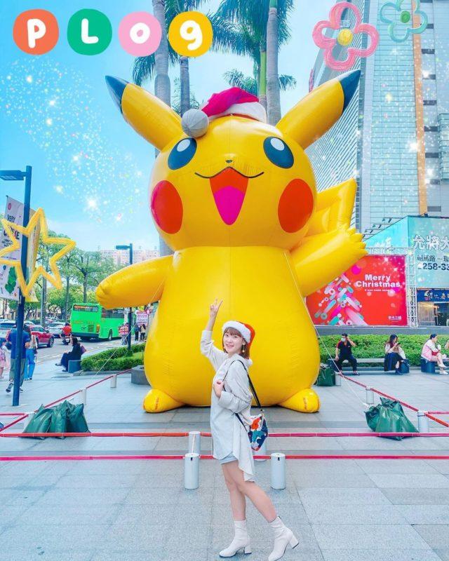 2020聖誕節|台中景點|台中新光三越中港店|寶可夢耶誕樂園|皮卡丘|打卡景點|全台聖誕活動