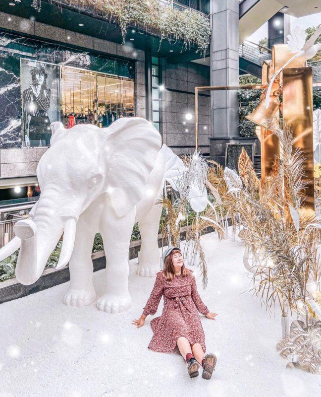 2020聖誕節|台北景點|信義區|新光三越信義新天地|打卡景點|聖誕裝飾|聖誕節打卡景點|2020聖誕樹