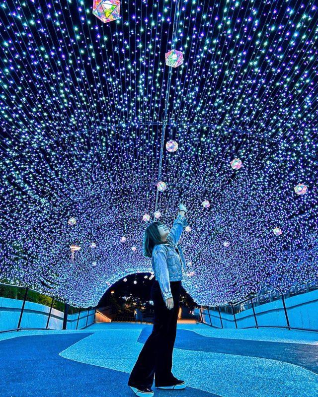 2020聖誕節|台北景點|捷運中山站|捷運雙連站|打卡景點|聖誕裝飾|聖誕節打卡景點|2020聖誕樹|心中山線型公園|爵士廣場