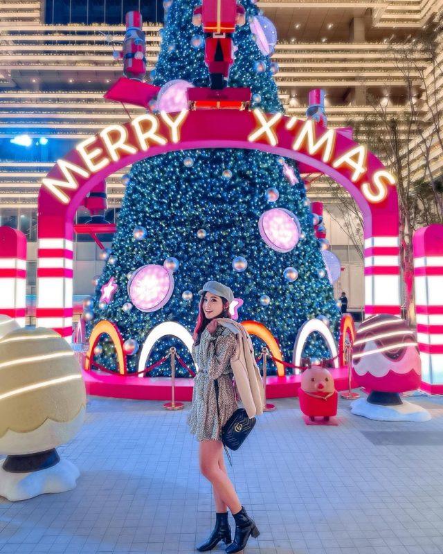2020聖誕節|台南景點|打卡景點|聖誕裝飾|聖誕節打卡景點|2020聖誕樹|南紡購物中心|胡桃鉗的聖誕派對