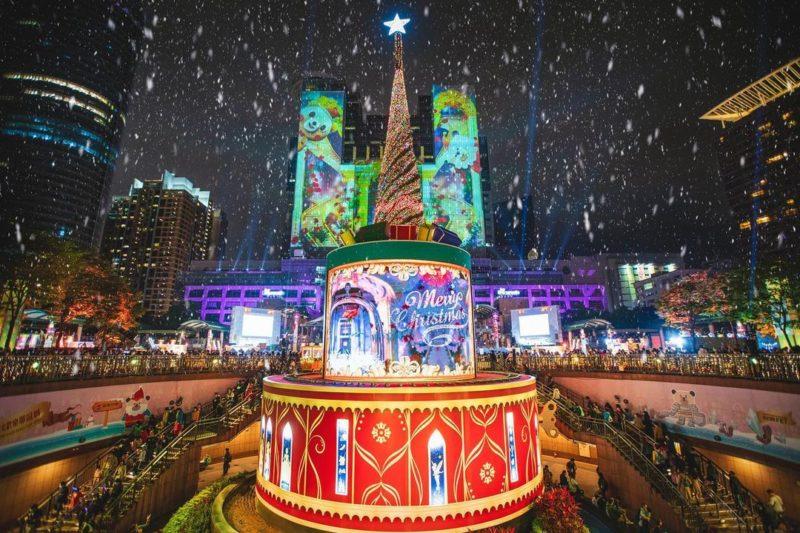 2020聖誕節|新北景點|板橋景點|新北耶誕城|打卡景點|聖誕裝飾|聖誕節打卡景點|2020聖誕樹|主燈
