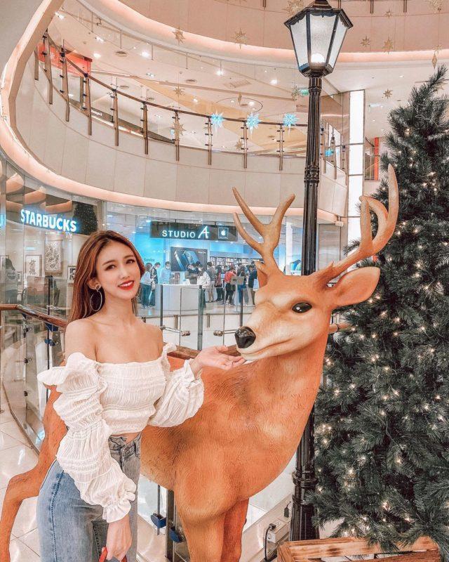 2020聖誕節|桃園景點|大江國際購物中心|打卡景點|聖誕裝飾|聖誕節打卡景點|2020聖誕樹|薑餅屋