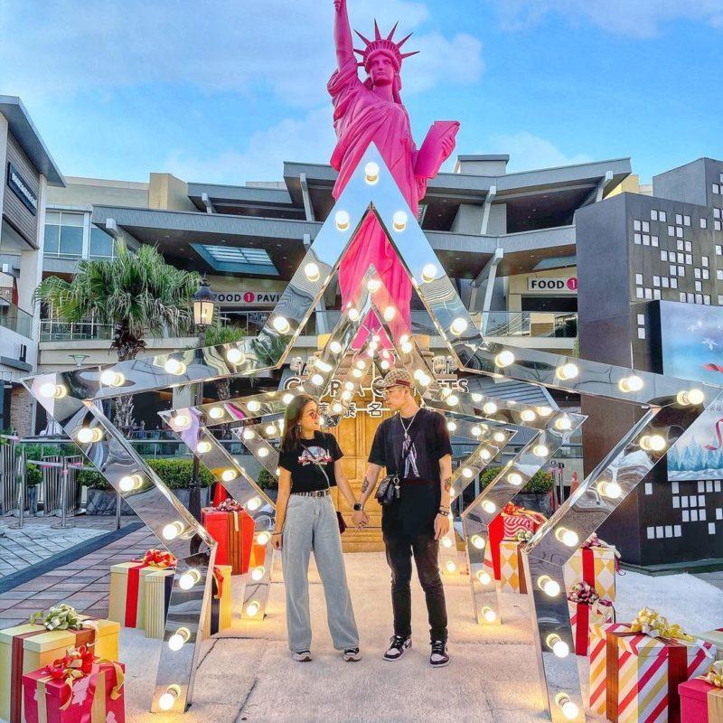 2020聖誕節|桃園景點|華泰名品城|打卡景點|聖誕裝飾|聖誕節打卡景點|2020聖誕樹