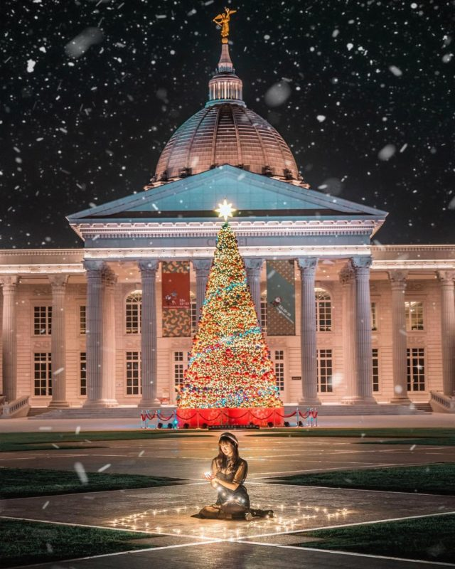 2020聖誕節|2021跨年|台南景點|台南聖誕樹|台南奇美博物館|奇美博物館
