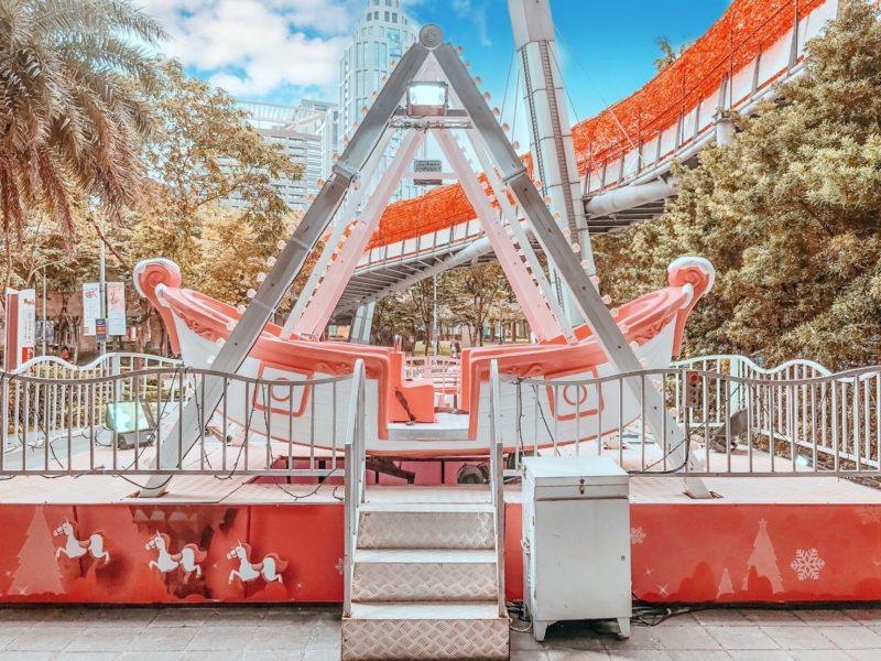2020聖誕節|2020新北耶誕城|板橋景點|板橋聖誕樹|板橋大遠百LOVE PINK耶誕樂園