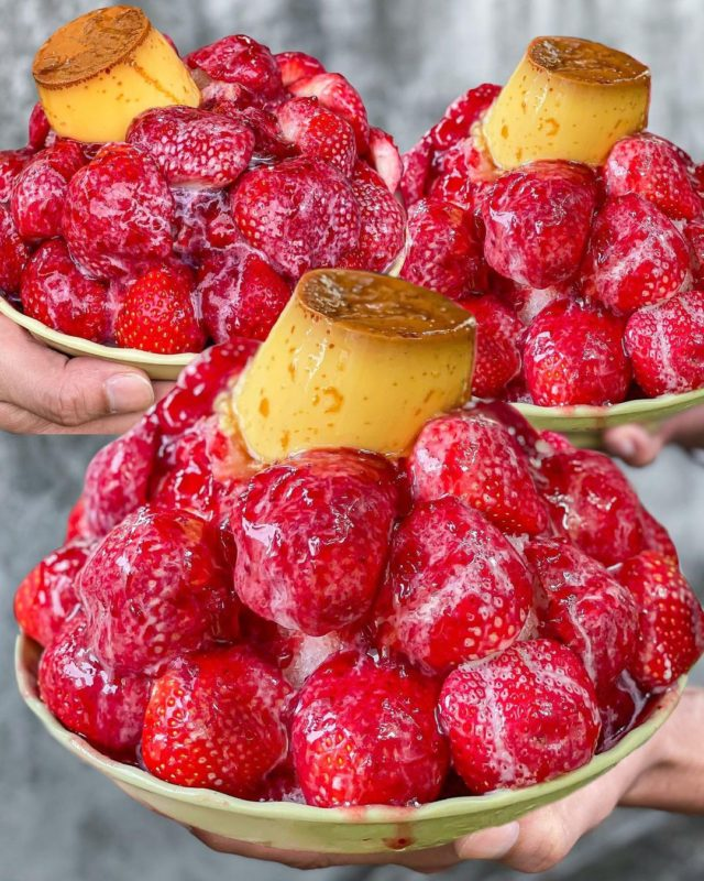 台南冰品 台南美食 台南草莓冰 草莓季 冰鄉草莓冰