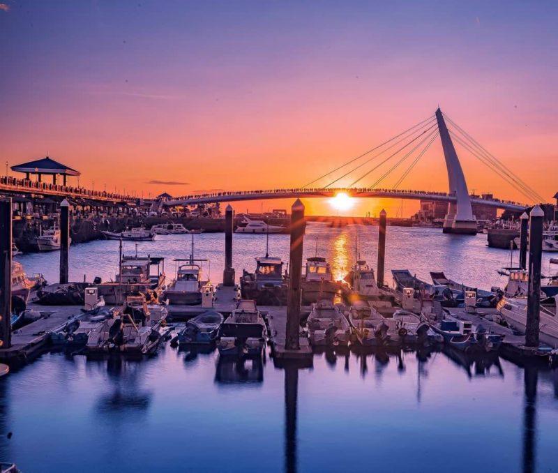 淡水漁人碼頭 淡水景點 觀夕景點