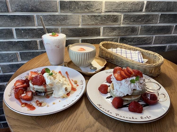 九州鬆餅|鬆餅推薦|富錦街咖啡廳|民生社區鬆餅|民生社區咖啡廳|草莓季|草莓鬆餅