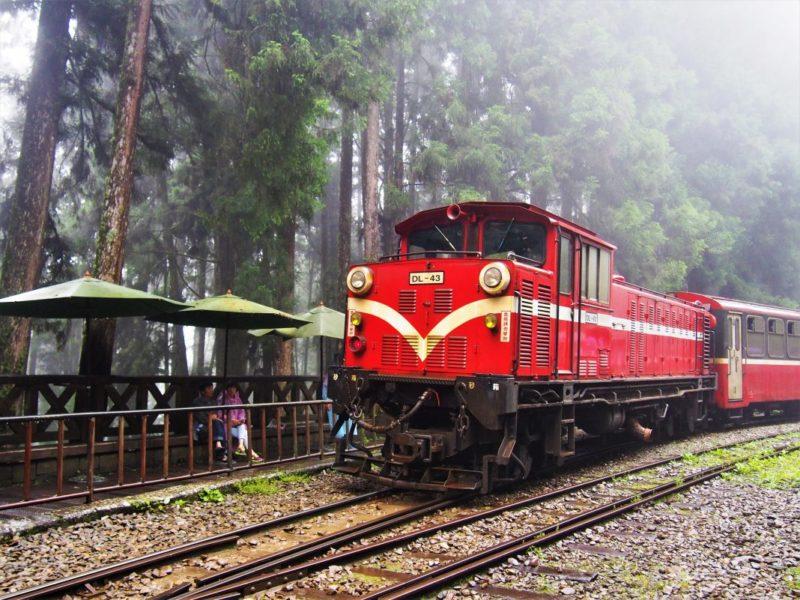 阿里山小火車-日出祝山線