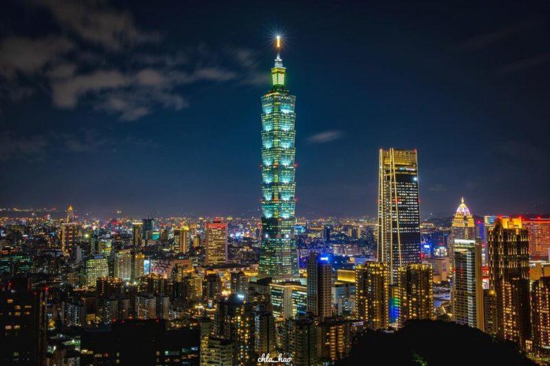 台北夜景,象山夜景,象山自然步道,象山登山步道,象山六巨石觀景台