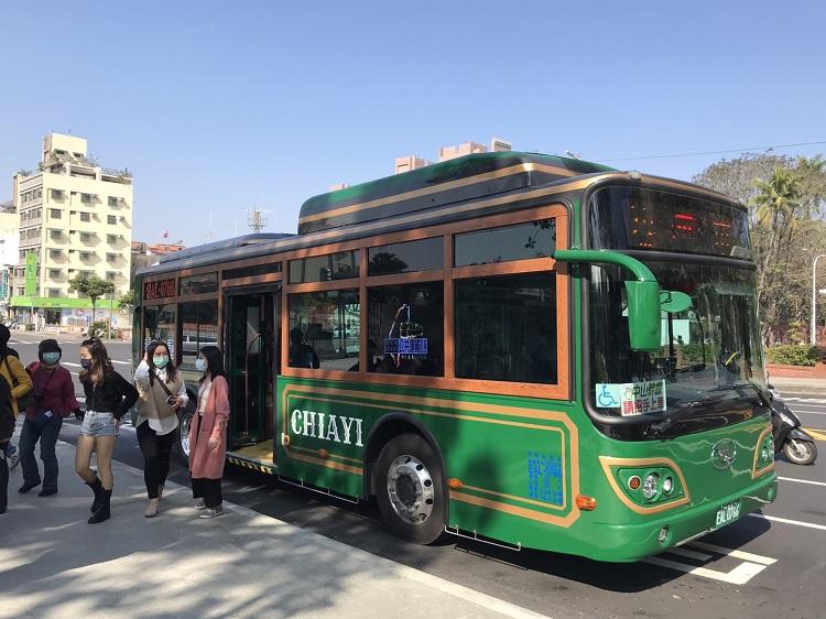 嘉義電動公車|嘉義景點|嘉義交通|