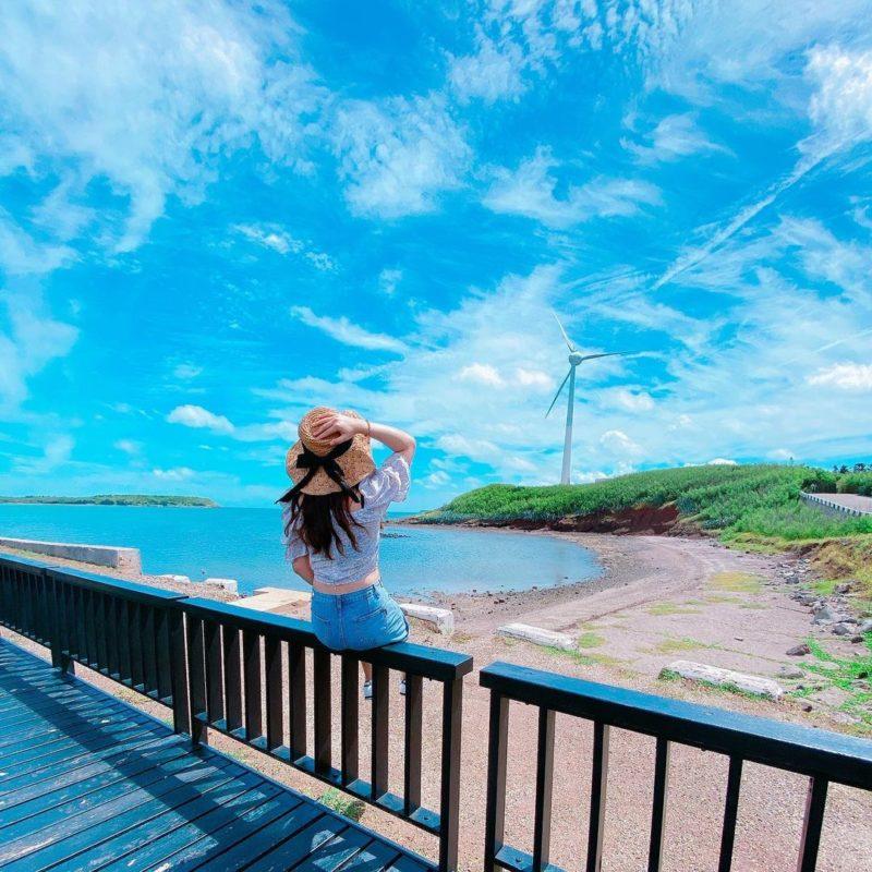 澎湖景點,打卡景點,中屯風車
