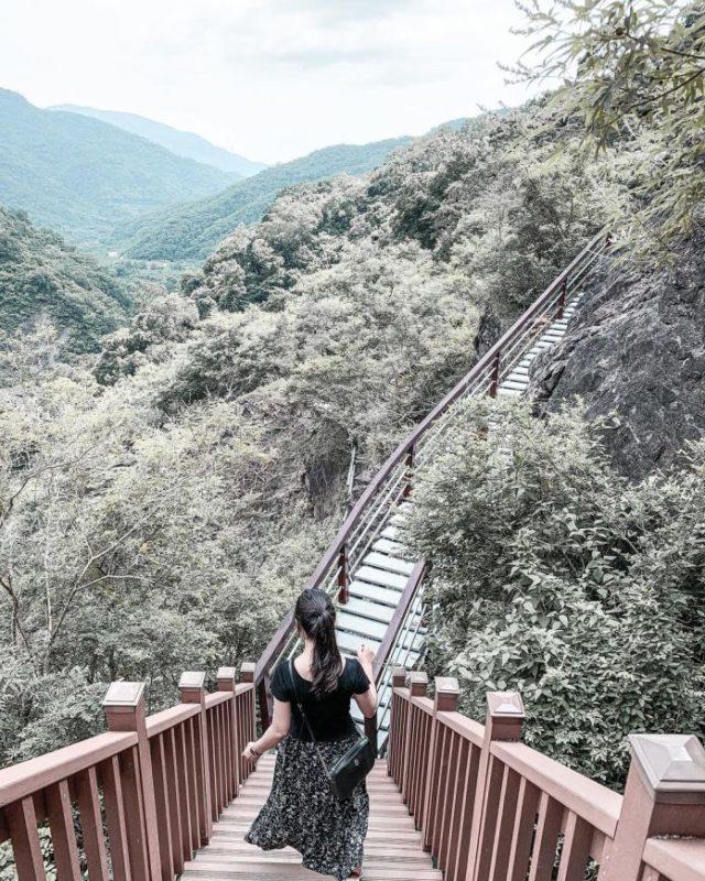 浸水營古道周邊景點-卡悠峯瀑布