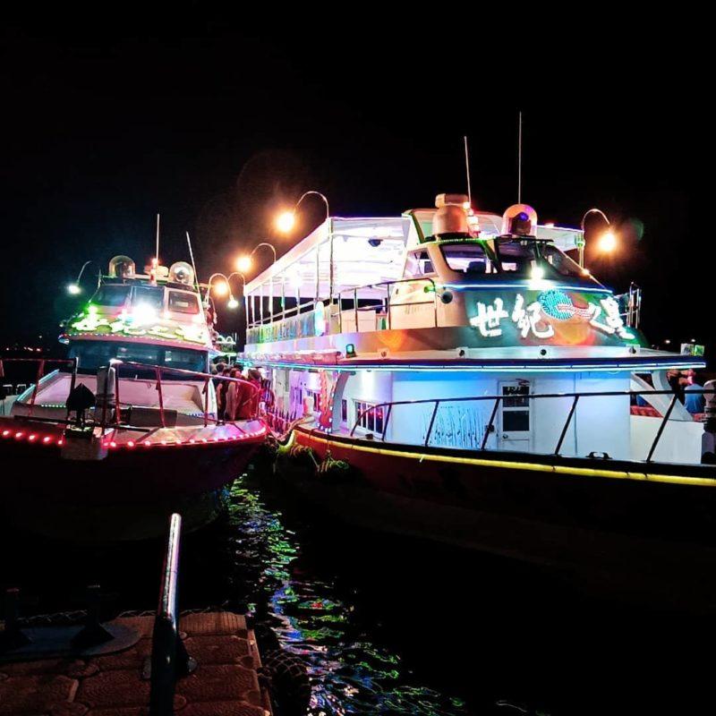 澎湖景點|澎湖水上活動|夜釣小管
